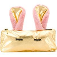 Wauw Capow By Bangbang Porta Lápis Cora Rabbit - Dourado