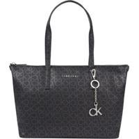 Shopping Bag Monograma - Preto - U