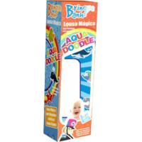 Brinquedo De Banho Aquadoodle Lousa Magica Bate Bumbo Colorido