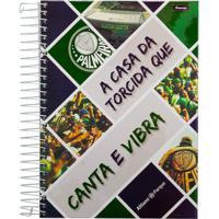 Caderno Foroni Palmeiras Canta E Vibra 15 Matérias
