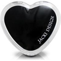Espelho Jacki Design De Bolsa Coração Arf17277-Pr Preto Unico
