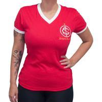 30a489c6ce8f6 Netshoes  Camisa Retrô Mania Internacional 1975 Feminina - Feminino