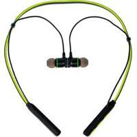 Fone De Ouvido Bluetooth Com Suporte Sem Fio - Unissex-Verde