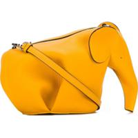 Loewe Bolsa Mini Em Forma De Elefante - Amarelo