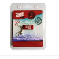 Pen Drive Musical - 100 Músicas E 5 Clips – Filmes