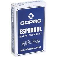 Jogo - Cartas De Baralho - Espanhol - Azul - Copag 98473