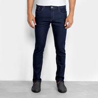 Calça Jeans Slim Preston Amaciada Bigode Masculina - Masculino