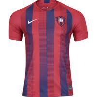 Camisa Cerro Porteño I 18/19 Nike - Masculina - Vermelho/Azul