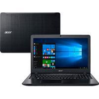 "Notebook Acer Aspire F5-573-521B – Preto - Intel Core I5-6200U - 1Tb Hd – 8Gb Ram – Tela Led 15,6"" – Windows 10"