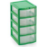 Caixa Organizadora Plástico 4 Gavetas Organizador Multiuso