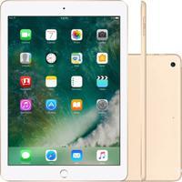 "Tablet Apple New Ipad 9.7"" Wi-Fi 128Gb 2018 Dourado"