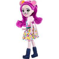 Boneca Fashion E Animal - Enchantimals - Mayla Mouse E Fondue - Mattel