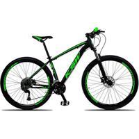 Bicicleta Aro 29 Ksw Xlt 27V Câmbios Shimano Altus M2000 Freio A Disco Hidráulico Com Trava - Unissex