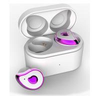 Fone De Ouvido Sdbc Se6 Bluetooth 5.0 Com Case - Branco E Rosa