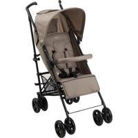 Carrinho De Bebê Sprinter Capuccino Encosto Reclinável - Burigotto