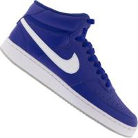 Tênis Cano Alto Nike Court Vision Mid - Masculino - Azul/Branco