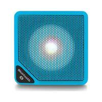 Caixa De Som Cubo Speaker Com 3W Luz De Led Conexão Usb Bluetooth Aux Entrada Cartão Micro Sd Azul Multilaser - Sp308 Sp308