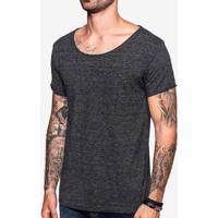 Camiseta Flamê Escura Gola Canoa 103589