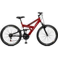 Bicicleta Master Bike Aro 26 Masculina Kanguru Style 21 Marchas A-36 Vermelho