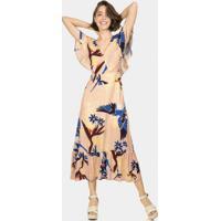 Vestido Mídi Amarração Guacamayo - Lez A Lez