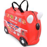 Mala Infantil Trunki - Boris: O Ônibus - Sua Viagem Muito Mais Divertida Vermelho