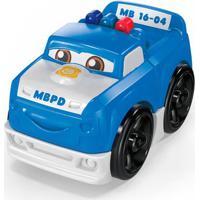 Blocos De Montar - Mega Bloks - Primeiros Carrinhos De Competição - Azul - Mattel
