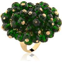 Anel Rincawesky Chuveiro De Cristal Verde