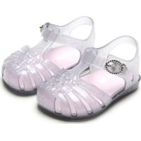 Sandália Pimpolho Menina Glitter Branca