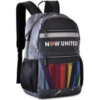 """Mochila Laptop Now United Refletiva Bolso Telado Arco Íris 17"""" Modelo 2"""