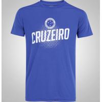Camiseta Do Cruzeiro Spider - Masculina - Azul