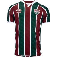 Camisa Do Fluminense I 2020 Umbro - Masculina - Vinho/Branco