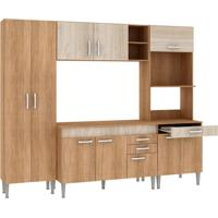 Cozinha Compacta Classic Flex 10 Pt 3 Gv Carvalho Com Blanche