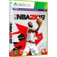 Jogo Nba 2K18 Para Xbox 360 (X360) - 2K
