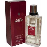 Habit Rouge De Guerlain Eau De Toilette Masculino 100 Ml
