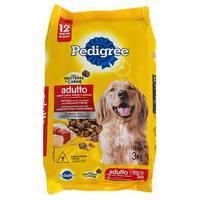 Ração Para Cães Pedigree Adultos Carne, Frango E Cereais 3Kg