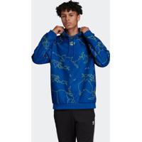 Blusão E Jaqueta Adidas World Azul