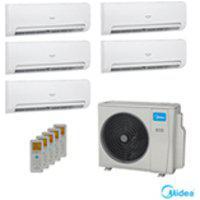 Ar Condicionado Multi Split Inverter Springer Midea Com 5 X 9.000 Btus, Quente E Frio, Branco - 42Mbma09M5