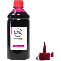 Tinta Para Bulk Ink Espon 194 Magenta 500Ml Aton Corante