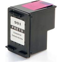 Cartucho De Tinta Compatível Hp901 Para Officejet Preto 13Ml