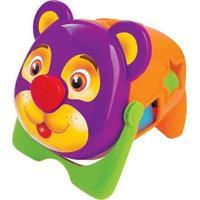 Urso Tomy Merco Toys Multicolorido