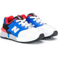 New Balance Kids Tênis Color Block 997 - Azul