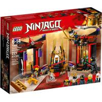 Lego Ninjago - Masters Of Spinjitsu - Confronto Na Sala Do Trono - 70651
