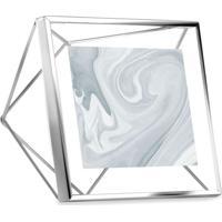 Porta-Retrato Prisma 10X10 Cm Prata