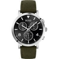 Relógio Hugo Boss Masculino Couro Verde - 1513692