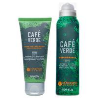 Duo Desodorante E Barba Café Verde