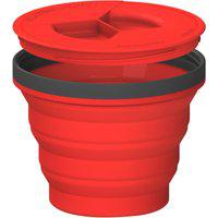 Caneca Colapsável Sea To Summit X Seal Go Medium 415Ml Vermelha