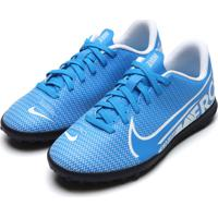Chuteira Nike Menino Jr. Mercurial Superfly 7 C Azul