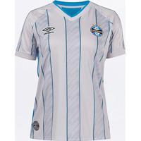 Camisa Grêmio Ii 20/21 S/N° Torcedor Umbro Feminina - Feminino