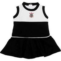 Vestido Bebê Corinthians Regata Oficial