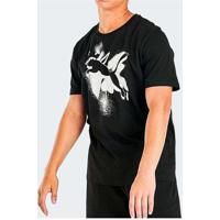Camiseta Puma Cat Basic Masculina Preto